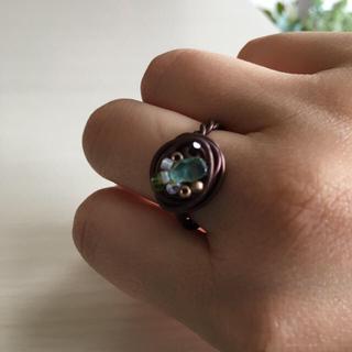 ハンドメイド ワイヤーリング(リング(指輪))
