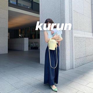 イエナ(IENA)のkurun Tokyo  極美品!完売ネオンイエローポインテッドフラットトゥ(ハイヒール/パンプス)