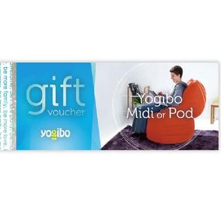 Yogibo Midi or Pod ギフト券