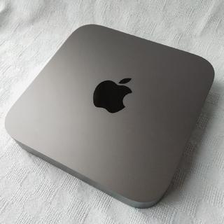 アップル(Apple)のApple Mac mini 2018 Core i3 SSD128GB 保証有(デスクトップ型PC)