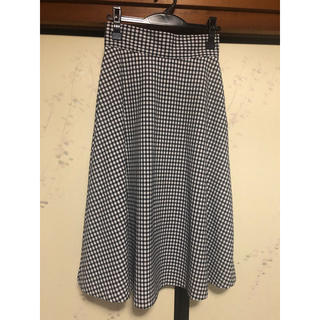 GU - ギンガムチェック スカート
