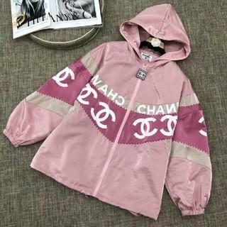 CHANEL - シャネル ジャケット UVカットメッシュパーカー ピンク 正規品 S