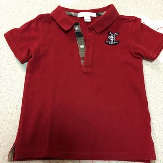 バーバリー(BURBERRY)の未使用 バーバリー 半袖 ポロシャツ 2Y 92cm(Tシャツ/カットソー)