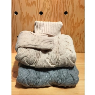 TODAYFUL - TODAYFUL  Cable Turtle Knit