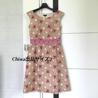 TOCCA - TOCCA トッカ ワンピース 刺繍 フラワー ドレス 2 花柄