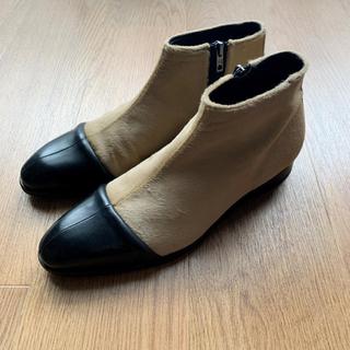 マルタンマルジェラ(Maison Martin Margiela)の【早い者勝ち】PIHAKAPI PONYFUR BOOTS 19ss(ブーツ)