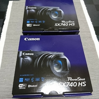 Canon - Canon  Power Shot SX740HS ブラック (新品2台)