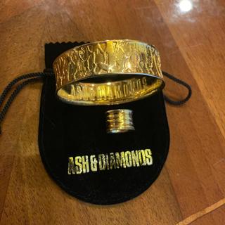 アッシュアンドダイアモンド(ASH&DIAMONDS)のASH&DIAMONDS ブレスレット 指輪のセット(リング(指輪))