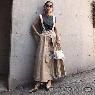Ameri VINTAGE -  アメリヴィンテージ   SUSPENDER LAYERED SKIRT