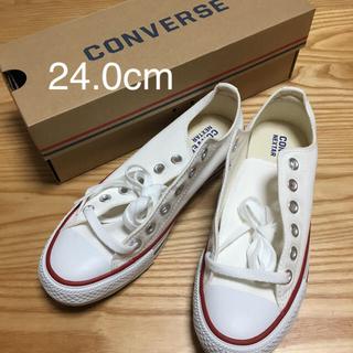 CONVERSE - 新品 コンバース 24.0cm スニーカー 白