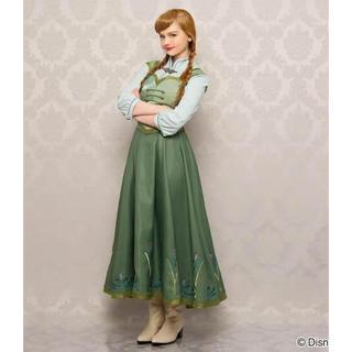 Secret Honey - 正規品シークレットハニー アナと雪の女王 スケートドレス+ウィッグ セット