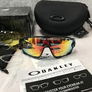 オークリー(Oakley)の新品同様オークリー スポーツサングラス /OAKLEY JAWBREAKER02(サングラス/メガネ)