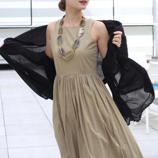 IENA - 新品タグ付 2019SS MARIHA 旅するストール ブラック