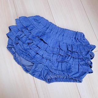 petit main - フリフリ パンツ付スカート 100 プティマイン