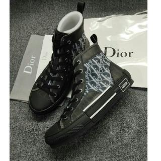 ディオール(Dior)のDior ディオール ハイカット スニーカー 正規品 男女兼用 25cm (スニーカー)