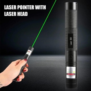 強力 グリーンレーザーポインター(充電器、充電池付属)
