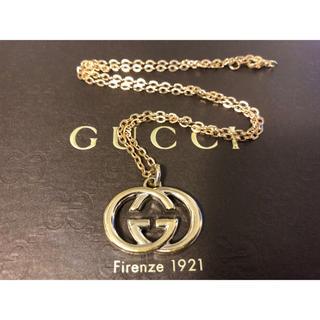 グッチ(Gucci)の 正規品 グッチ GUCCI チャーム トップ ネックレス  ゴールド (ネックレス)