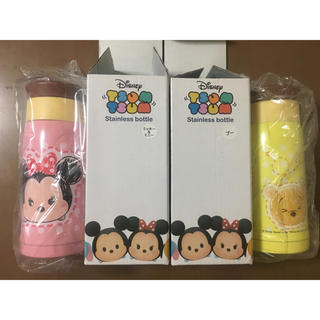 Disney - ディズニー ツムツム ステンレスボトル 2種類セット