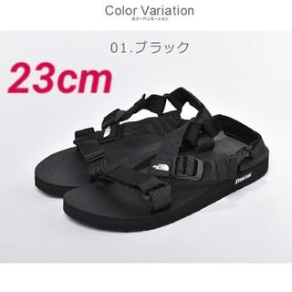 THE NORTH FACE - ☆ NORTH FACE ウルトラストレイタム サンダル ブラック 23cm ☆