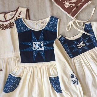 キャラメルベビー&チャイルド(Caramel baby&child )のapolina kids 公式限定 エプロンワンピース(ワンピース)