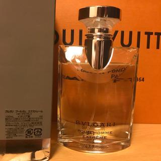 ブルガリ(BVLGARI)のブルガリ プールオム  エクストレーム100ml(香水(男性用))
