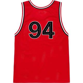 シュプリーム(Supreme)のRhinestone Basketball Jersey(タンクトップ)