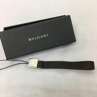 ブルガリ(BVLGARI)の正規品 ブルガリ BVLGARI レザーストラップ(正規品箱付き)(その他)