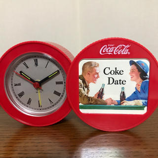コカコーラ(コカ・コーラ)のコカコーラ  置時計  ノベルティー(ノベルティグッズ)