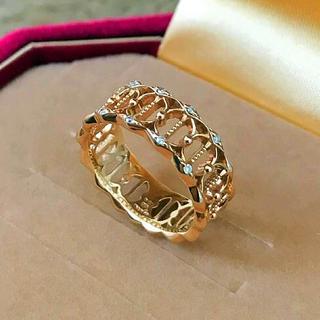 アガット(agete)のagete K10PGダイヤモンドリング(リング(指輪))