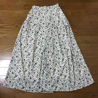 GU - 値下げ‼︎美品‼︎花柄 ワイドパンツ ジーユー