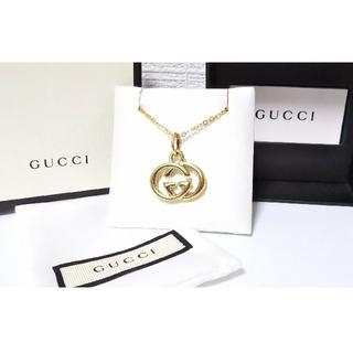 グッチ(Gucci)のGUCCI/グッチ ゴールド系 インターロッキングG ネックレス/ペンダント(ネックレス)
