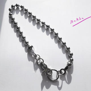 "【48cm】10mm Ball Chain Choker ""FRAGMENTS"""