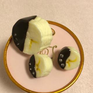 キューポット(Q-pot.)のQ-pot  チョコバナナ  リング&ピアスセット(リング(指輪))