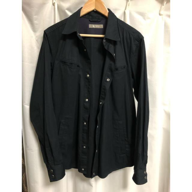 nano・universe(ナノユニバース)のナノユニバース レギュラーカラーブルゾンシャツ メンズのトップス(シャツ)の商品写真