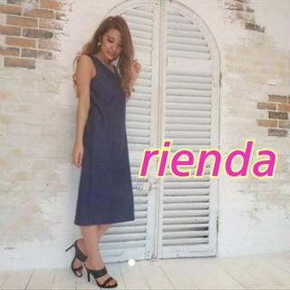 rienda - rienda★スリットデニムOP★Rady*リゼクシー*ロデオ*マウジー