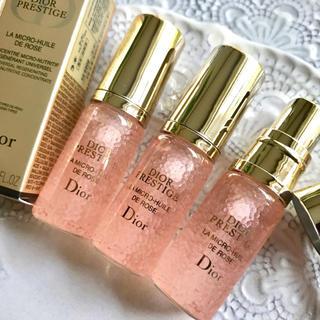 ディオール(Dior)の【現品半分14,040円分】ディオール プレステージ ユイルドローズ ベスコス✦(美容液)
