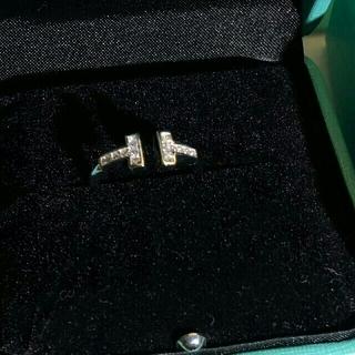 ティファニー(Tiffany & Co.)のティファニー ワイヤーリング 美品 値下げ早い者勝ち(リング(指輪))