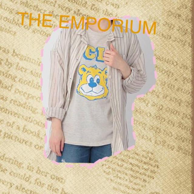 THE EMPORIUM(ジエンポリアム)のUCLA BRUINSベアTシャツ レディースのトップス(Tシャツ(半袖/袖なし))の商品写真