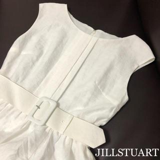 JILLSTUART - 【美品】JILLSTUART ジルスチュアート ワンピース ベルト