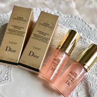 ディオール(Dior)の【9,360円分】ディオール プレステージ ユイルドローズ ✦ベストコスメ受賞✦(美容液)