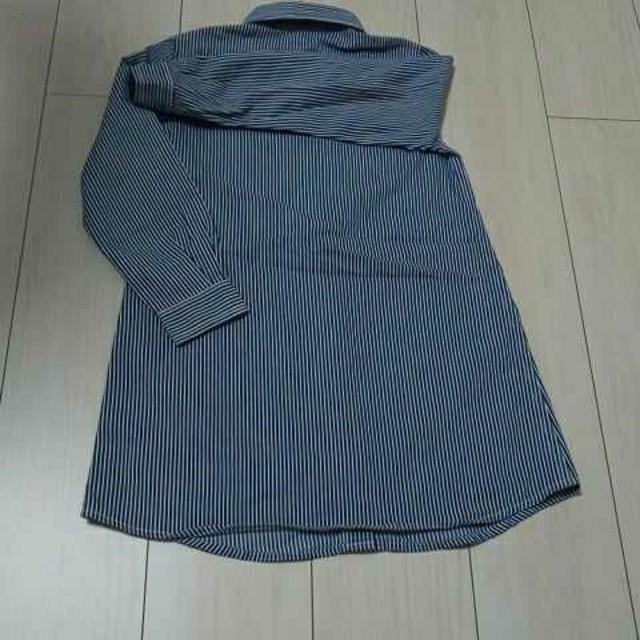 GU(ジーユー)のGU 子供服長袖ワンピース キッズ/ベビー/マタニティのキッズ服 女の子用(90cm~)(ワンピース)の商品写真