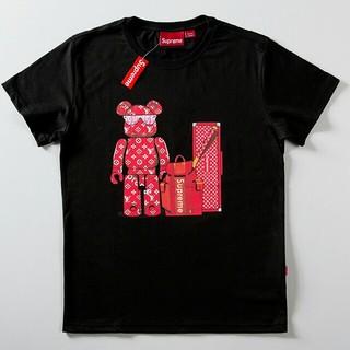 ルイヴィトン(LOUIS VUITTON)のLV     Tシャツ 半袖   Mサイズ(Tシャツ(半袖/袖なし))