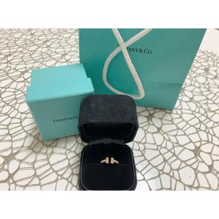 ティファニー(Tiffany & Co.)のTiffanyTワイヤーリング9号 YG(リング(指輪))