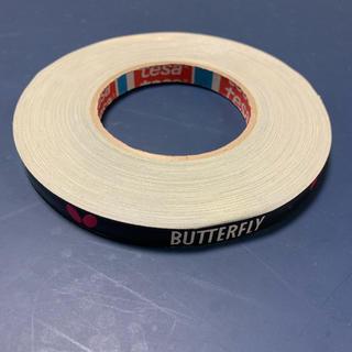 バタフライ(BUTTERFLY)のミタミタ様専用 海外 卓球 バタフライ サイドテープ 黒×白、ピンク 12mm(卓球)