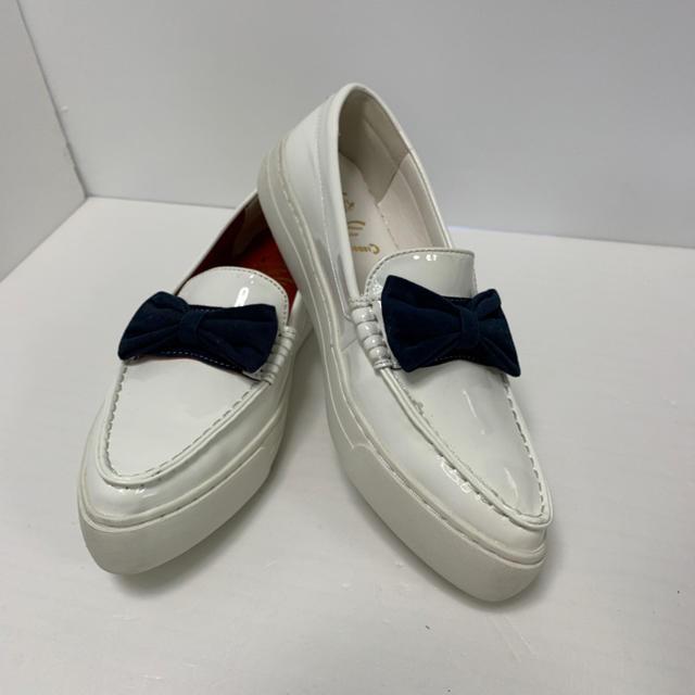 MARQUI C&Kコラボ エナメルローファー サイズ39 24.0cm 未使用 レディースの靴/シューズ(ローファー/革靴)の商品写真