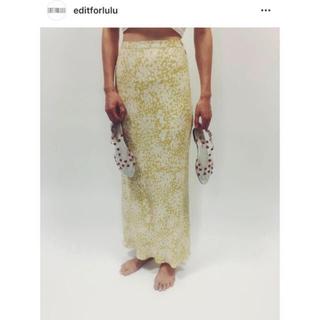 EDIT.FOR LULU - edit for lulu  フラワースカート