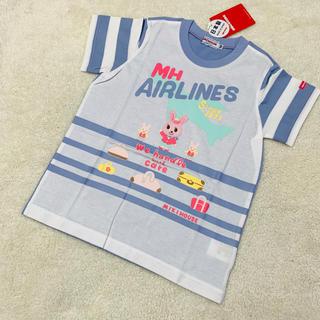 ミキハウス(mikihouse)のミキハウス うさこ 半袖Tシャツ 100(Tシャツ/カットソー)