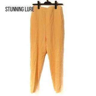 STUNNING LURE - スタニングルアー パンツ サイズ2 M レディース イエロー