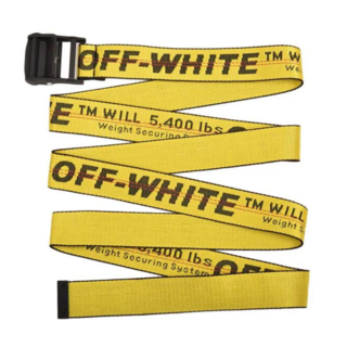 OFF-WHITE - off-white インダストリアルベルト ☆早勝ち