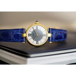Cartier - 美品 カルティエ マスト ヴァンドーム グレー SM Cartier